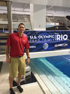 Dr. Clark Scott Indianapolis chiropractor olympic diving